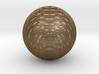 Striped Sphere 3d printed