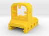 TSQ Mock Red Dot Reflex Sight for Picatinny Rail 3d printed