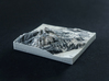 Crested Butte in Winter, Colorado, USA, 1:50000 3d printed