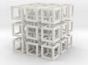 Interlocked Cubes 3d printed