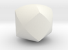 Intersection of 3 cylinders 3d printed