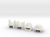 Robohelmets: Emergency Crew 3d printed