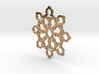 Mandelbrot Web Pendant 2 3d printed