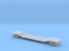 Flat Car 60 Ft Heavy 3d printed