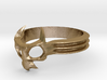 Skull Mask Ring -v3 3d printed
