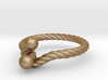 Ring - Twist with Balls 3d printed