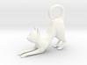 cat shaped pendant 3d printed