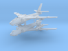 1/700 TU-16 Badger (x2) (Landing Gear Down) 3d printed