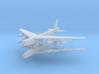 1/700 Experimental Aircraft Set 2 3d printed