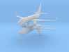 1/700 Boeing 737-700 Commercial Airliner (x2) 3d printed