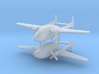 1/700 Fairchild AC-119 Shadow (x2) 3d printed