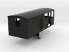 CIE Ballast Plow Brake Van OO Scale 3d printed