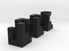 Triaxial (2.4cm) 3d printed