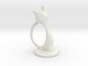 Napkin ring - Female cat 3d printed