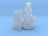 Snowman wishlist 3d printed