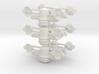 8 Satellite Type 1 x6 3d printed
