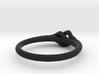 Twist Ring w/ Ball 3d printed