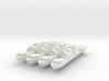9-Frigate 1:2400 x4 3d printed