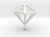 Diamant pendant 3d printed