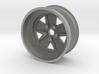 Fuchs wheel - 15x7 - 80mm Diameter 3d printed