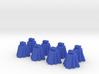 Ziggurats, Set of 8 temples 3d printed