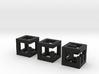 little maze-n-cubes (hollow 0.75mm walls) 3d printed