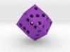 Rhombic die (2.5 cm) 3d printed