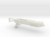 Shotgun for wargaming 3d printed