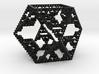 Cuboctahedral fractal graph 3d printed