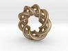 Charm Bead 3 strand mobius spiral 3d printed