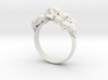 Skull Ring size 6- 3d printed