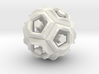 Dodecahedron Doodle 3d printed