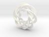 4 strand mobius spiral NO ball 3d printed