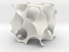 Gyroid surface 3d printed