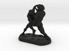 Wrestlers Figure 3d printed