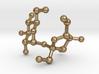 Sucrose (Sugar) Molecule Keychain 3d printed