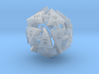 Tocrax Twenty-Sided Die 3d printed