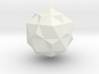 tron bit neutral combined dodecahedron icosohedron 3d printed