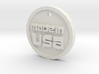 Born in USA Necklace 3d printed