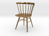 Nakashima Straight-Backed Chair - 6cm tall 3d printed