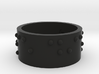 Braille Ring Carpe Diem 3d printed