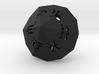 Zodiac (hollow) 3d printed