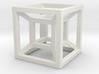 4D Cube 3d printed
