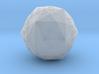 Disdyakis Triacontahedron d120 v2 3d printed
