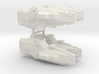 USF Frigate x 4 3d printed
