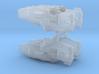 USF Heavy Frigate x 4 3d printed