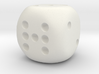 Lucky 7 Dice - hollow 3d printed