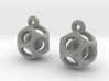 Dod Earrings w/ Spheres 3d printed