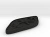 Nightshade Pendant 3d printed
