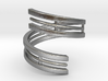 Bars & Wire Ring Size 6 3d printed